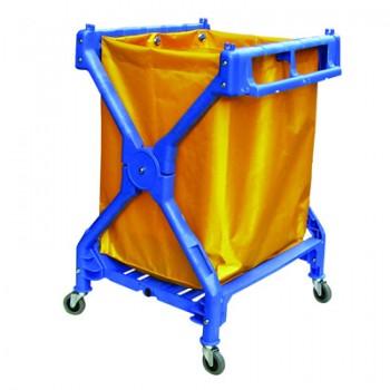 Xe đẩy đồ giặt là trong khách sạn bằng nhựa cao cấp