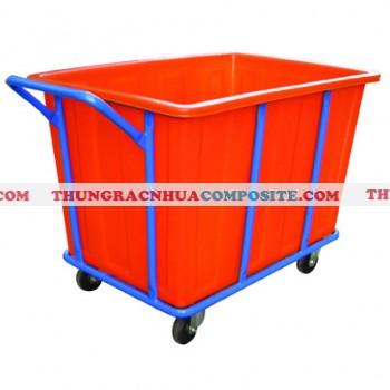 Xe đẩy đồ giặt là chuyên dụng bằng nhựa giá rẻ