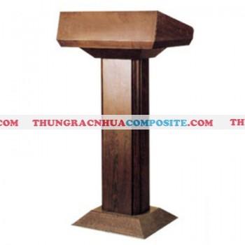 Bục đứng phát biểu bằng gỗ loại nhỏ