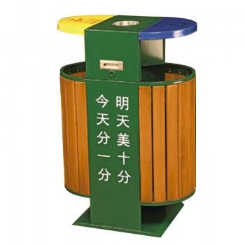Thùng đựng rác gỗ nhập khẩu