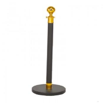 Cột ngăn di động bằng thép có dây chắn