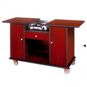 Tủ bếp di động bằng gỗ đẹp cao cấp