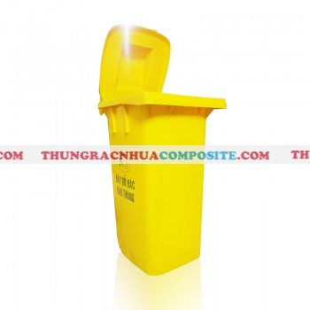 Thùng rác nhựa HDPE công cộng 240 lít