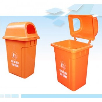 Thùng rác công công bằng nhựa