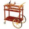 Kệ gỗ để rượu có bánh xe