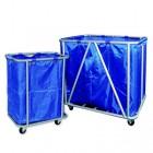 Xe đẩy đồ giặt là to & nhỏ khung inox không gỉ