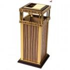 Địa chỉ công ty bán Thùng rác inox mạ vàng in giả gỗ cao cấp