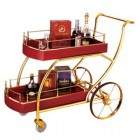 Xe đẩy rượu gỗ đẹp