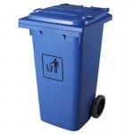 Thùng rác nhựa HDPE công nghiệp có nắp đậy và bánh xe