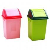Thùng rác nhựa nắp lật nhiều màu