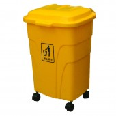 Thùng rác nhựa 70 lít có bánh xe