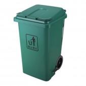 Thùng rác nhựa có bánh xe nắp đạp chân loại 100 l 120 lit 240 lít