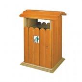 Thùng rác gỗ một ngăn