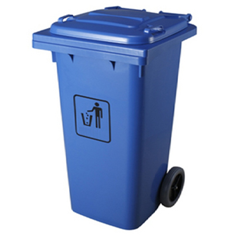 Thùng rác nhựa HDPE công cộng có bánh xe