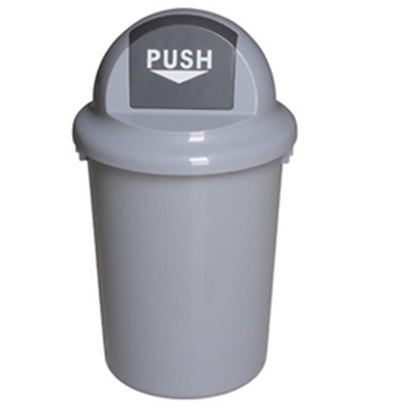 Thùng rác nhựa tròn có nắp